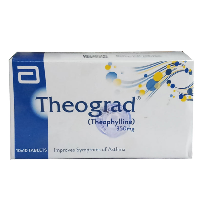 Theograd 350mg Tablet Theophyline Abbott Laboratories Xanthine