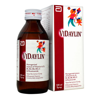 Vidaylin 120ml Syrup Abbott Laboratories Pakistan_ Ltd Vitamin Supplement