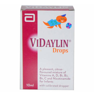 Vidaylin Drop 10ml Abbott  Laboratories Pakistan Ltd Vitamin Supplement