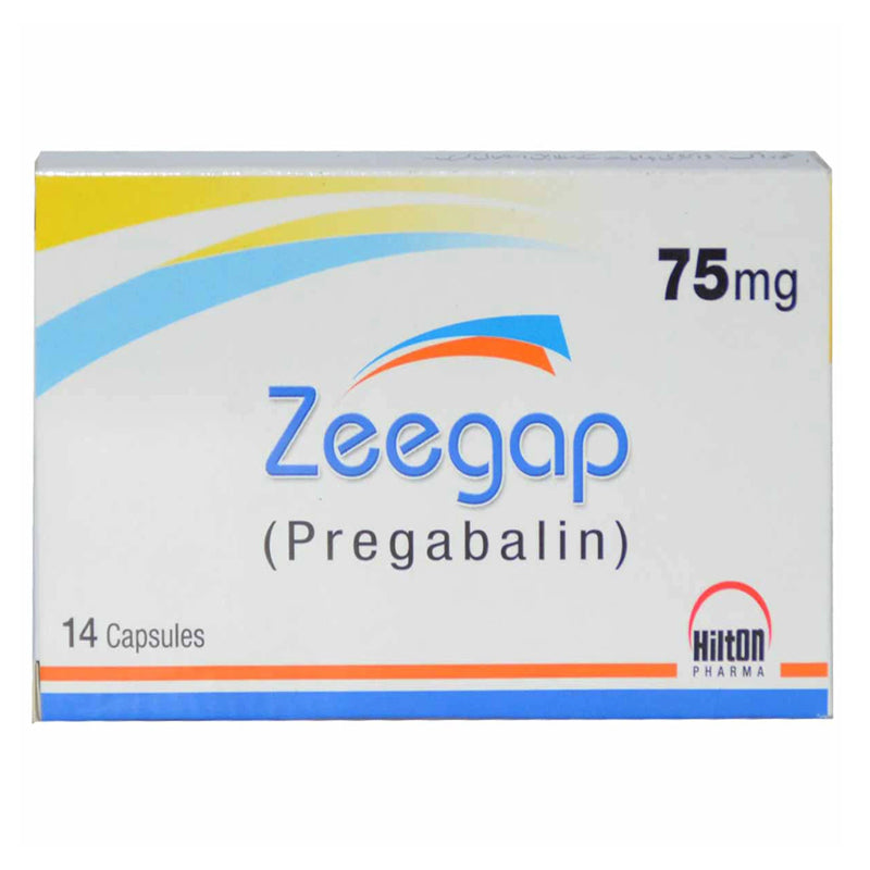 Zeegap 75mg Capsule Hilton Pharma Pvt Ltd Neuropathic Pain Pregabalin