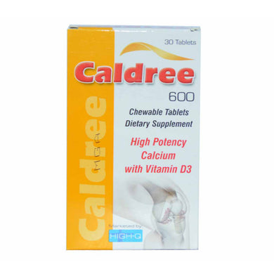 Caldree 600mg Tab