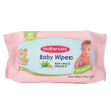 Mothercare Baby Wipes 80 Pcs