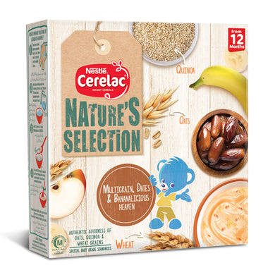 Nestle Nature Selection Dates & Bananalicious Cerelac