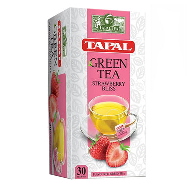 Tapal Green Tea Strawberry Bliss 30 Tea Bags