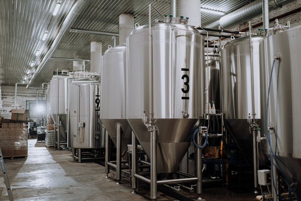 Large vessels for beer brewing