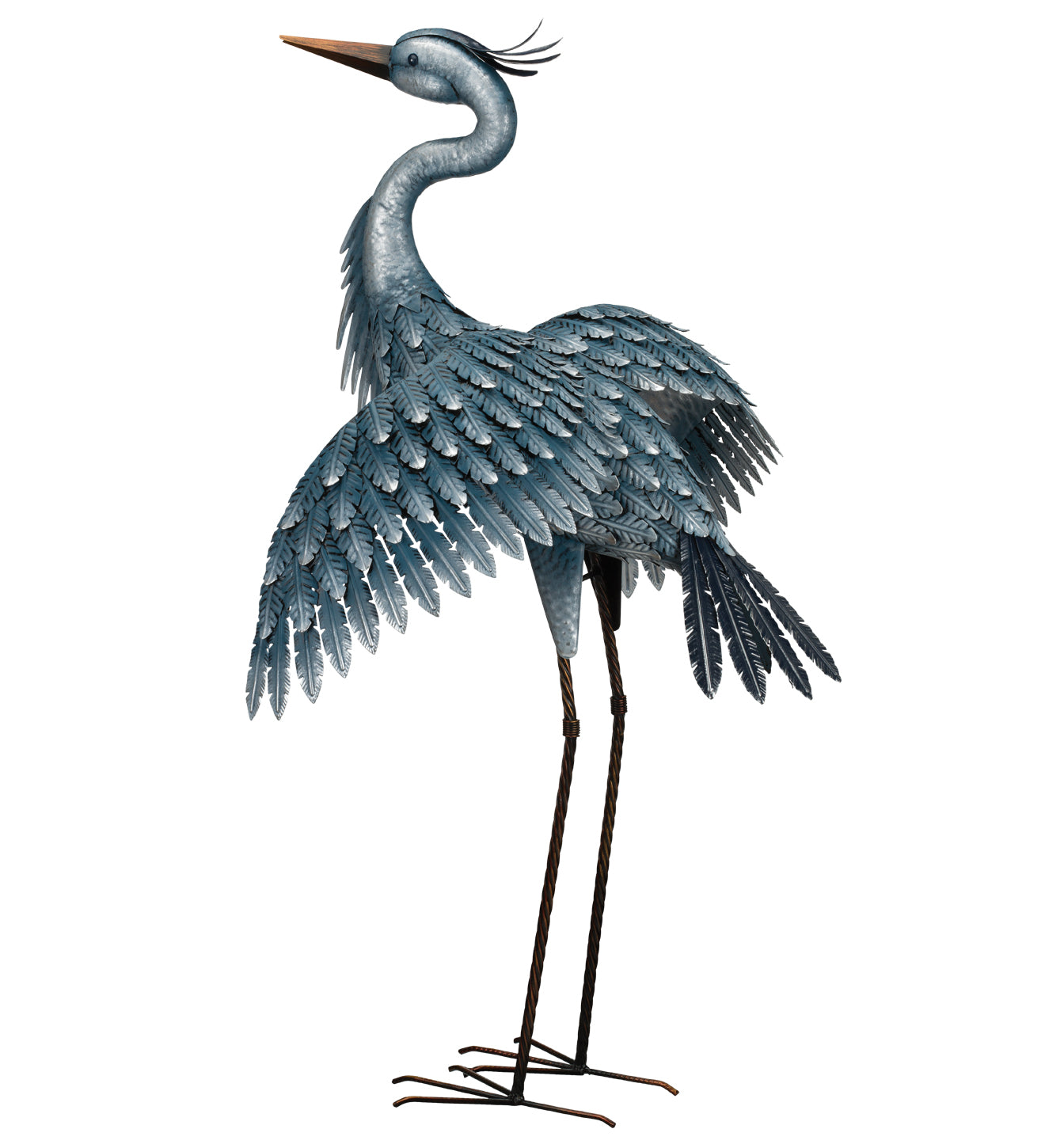 Bird Statuary Blue Heron