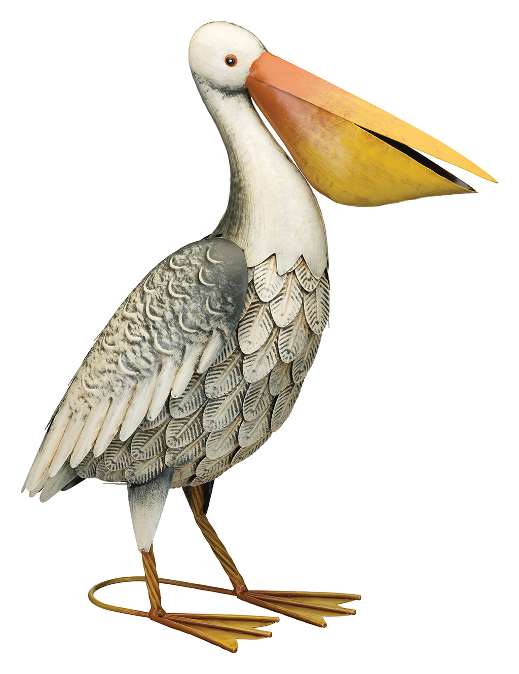 Bird Statuary Pelican Decor