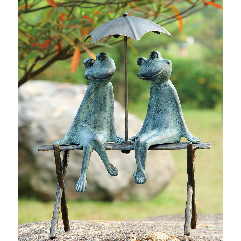Frog Lovers Garden Sculpture