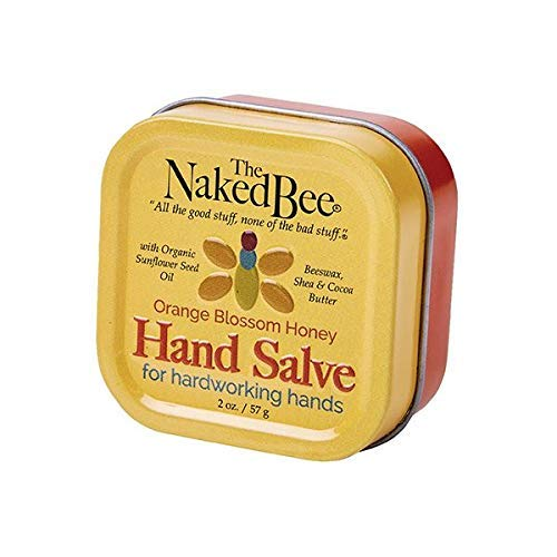 The Naked Bee - Orange Blossom Honey, Hand Salve, 2 oz.