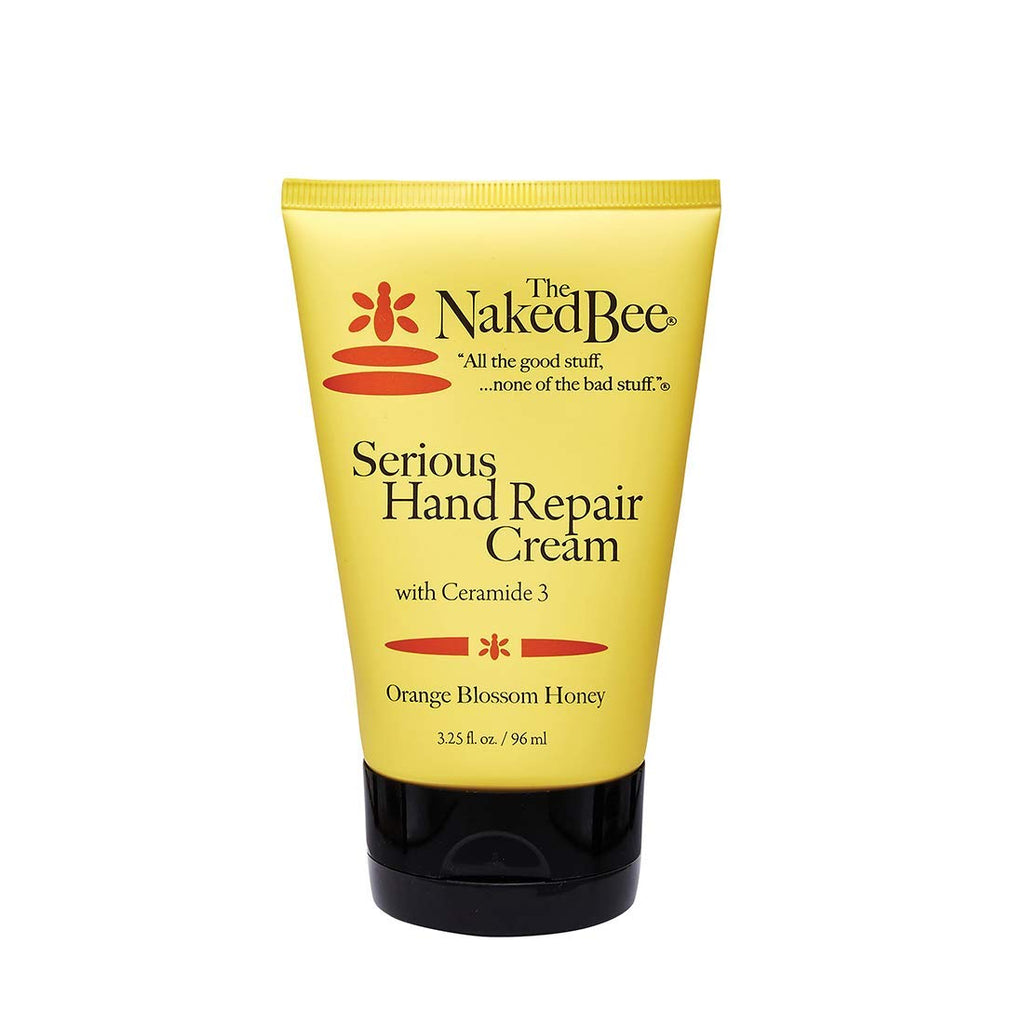 The Naked Bee - Orange Blossom Honey, Serious Hand Repair Cream, 3.25 oz.