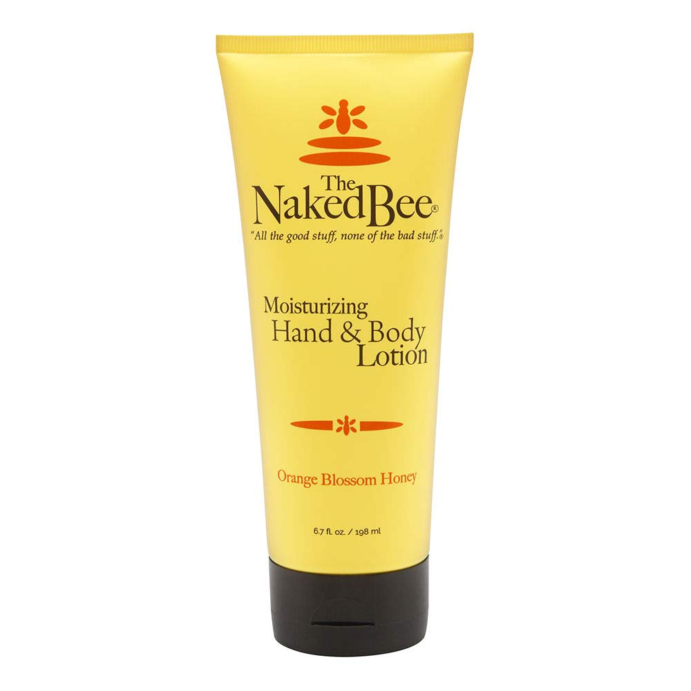 The Naked Bee - Orange Blossom Honey, Moisturizing Hand & Body Lotion, 6.7 oz.