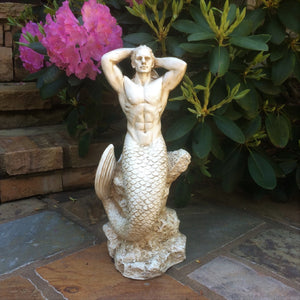 "Merman - 21"" Tall"
