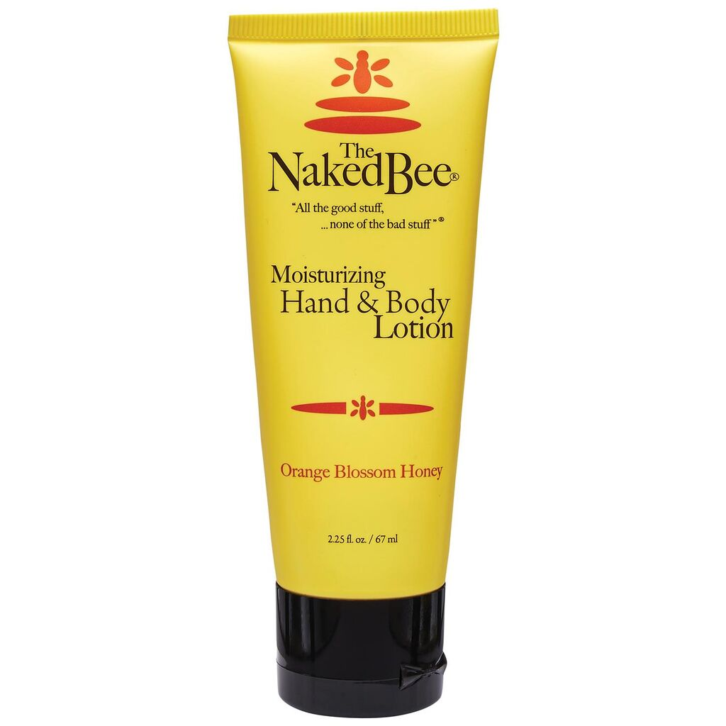 The Naked Bee - Orange Blossom Honey, Moisturizing Hand & Body Lotion, 2.25 oz.