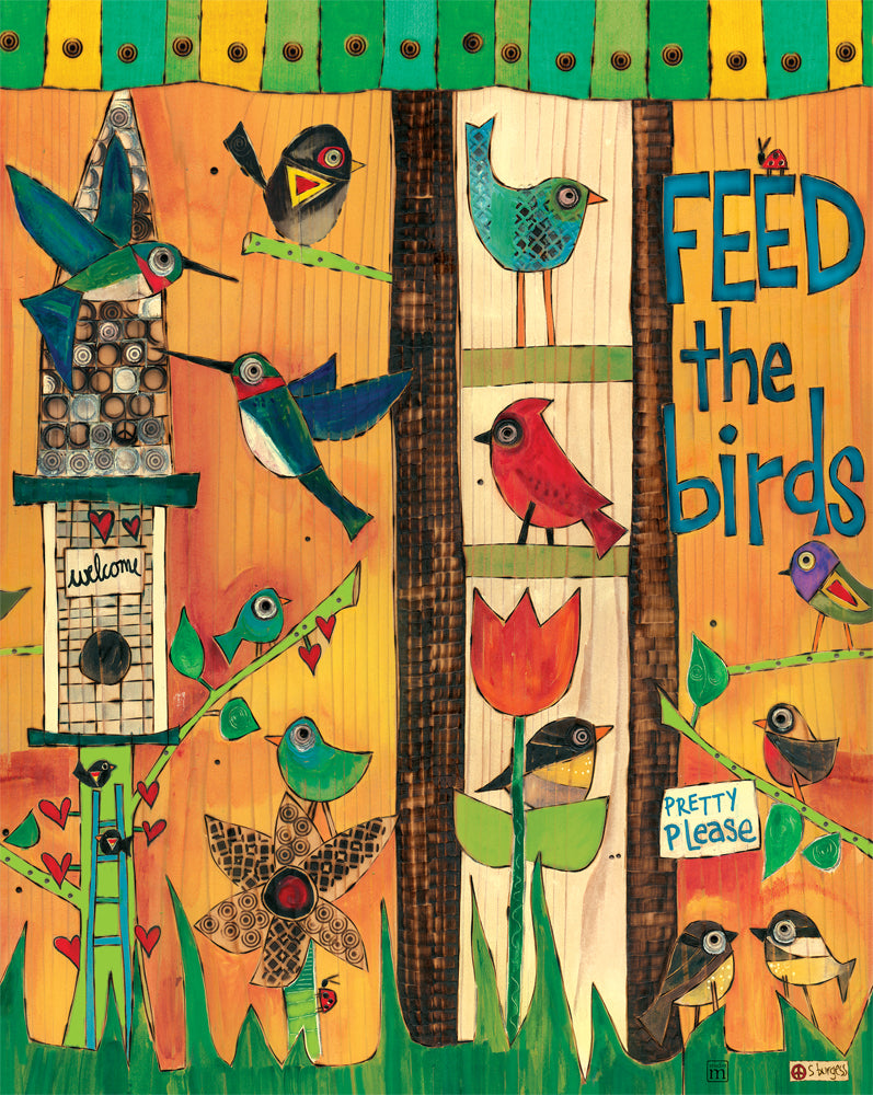 Feed the Birds 20""