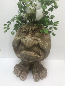 Grumpy Man Planter