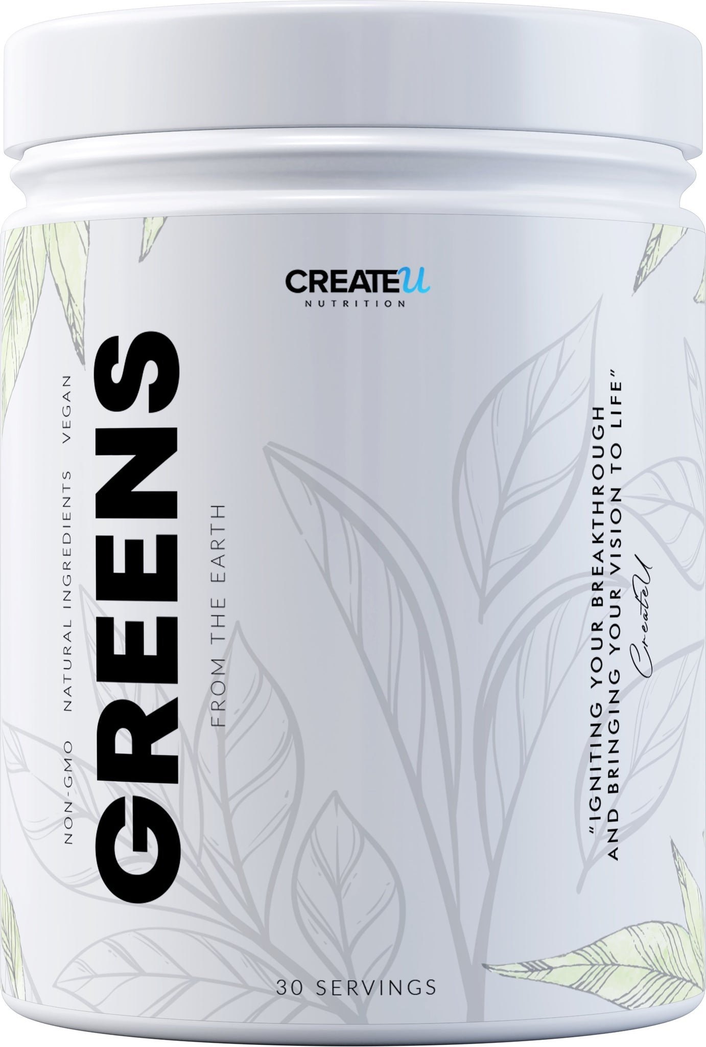 Brittany - Green Juice (35 Servings) supplement CreateUNutrition.com