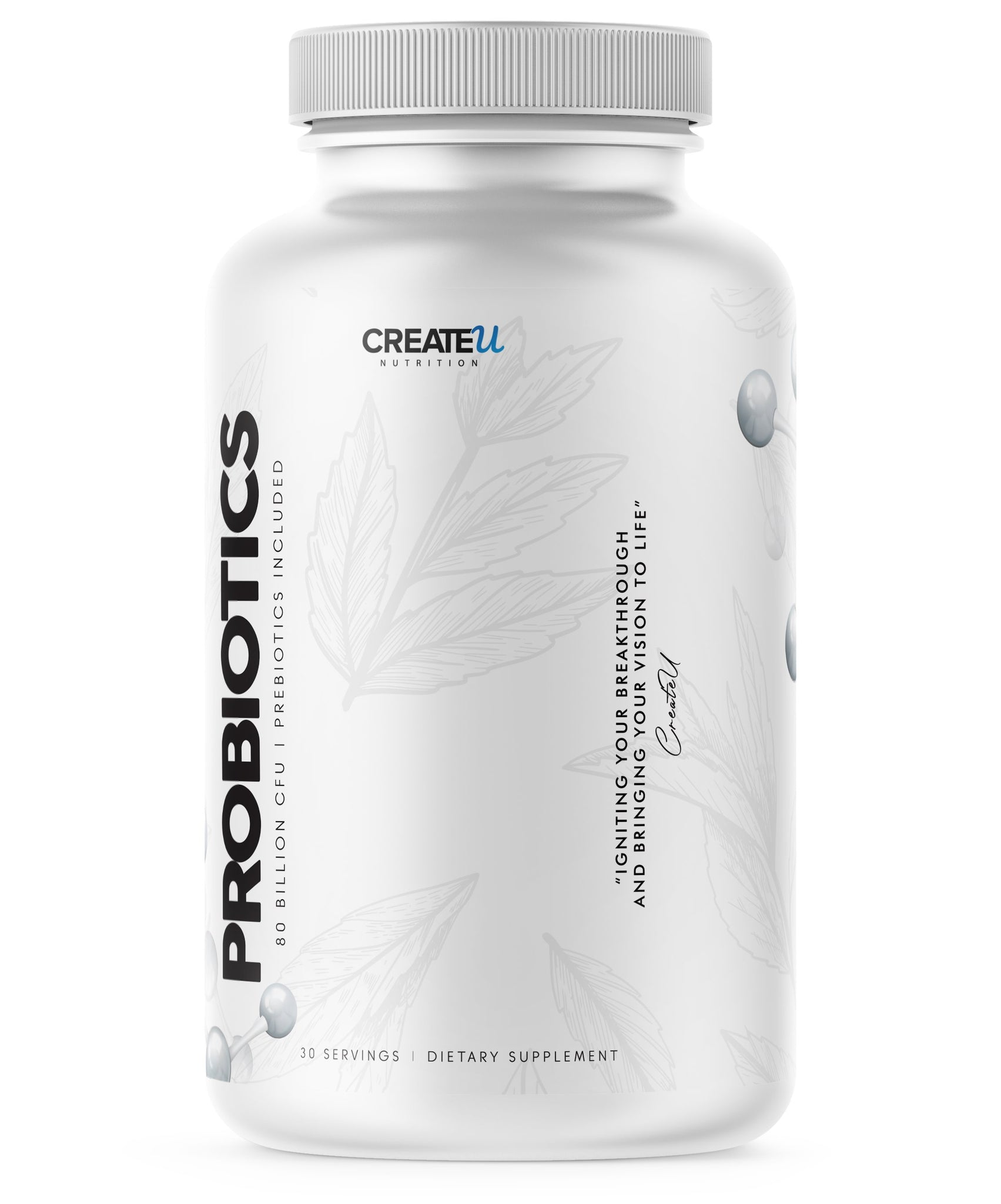 Chase - Probiotics supplement CreateUNutrition.com