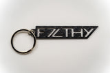 Forged Carbon Key Chain