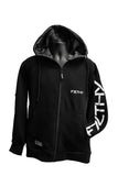 F7LTHY Flex - Slim Fit Zip Up Hoodie