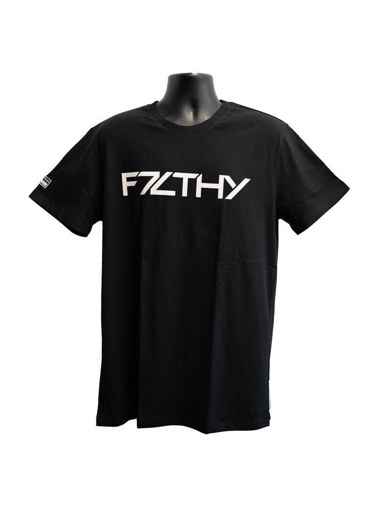 F7LTHY Kids T-Shirt Black and White