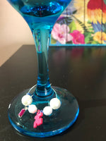 Autism Awareness Wine Glasses And Wine Charms