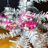 Blonde Bombshell Ornament