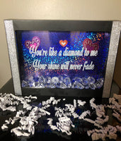 Shadow Box ~ You're like a diamond to me