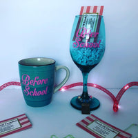 Coffee Cup and Wine Glass Set