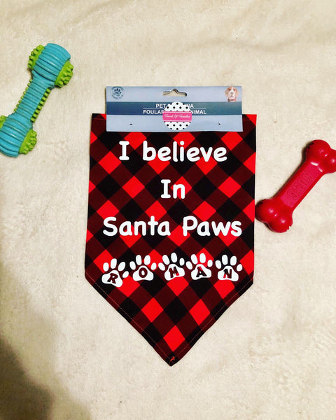 Customized Dog Bandanas With Your Own Phrase