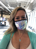 Beautiful Sequin Face Masks