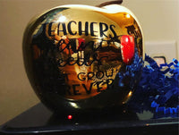 Beautiful Ceramic Apple Teacher Appreciation 🍎