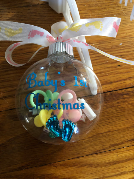 Baby's 1st Christmas ~ Ornament