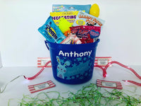 Boy's Easter Basket - FREE SINGLE NAME PERSONALIZATION