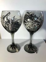 Bride & Groom Wine Glass Gift Set