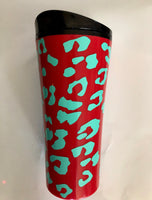 Personalized Tumbler With Name/Holographic Vinyl