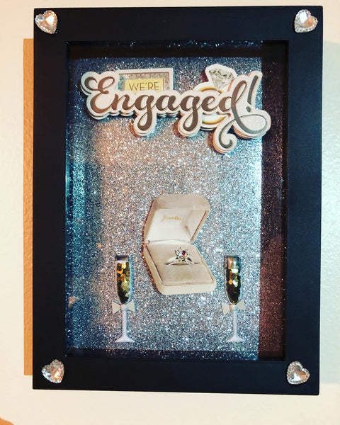Engagement Shadow Box