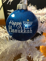 Happy Hanukkah Ornament
