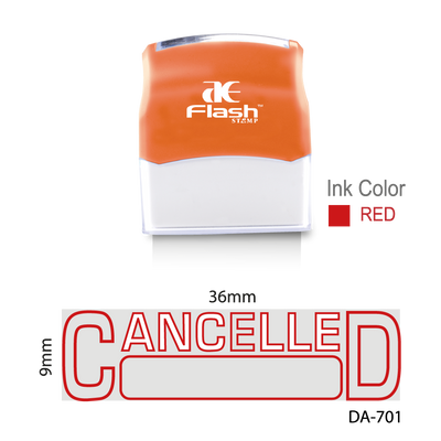 Cancelled Stamp (Two Colour)