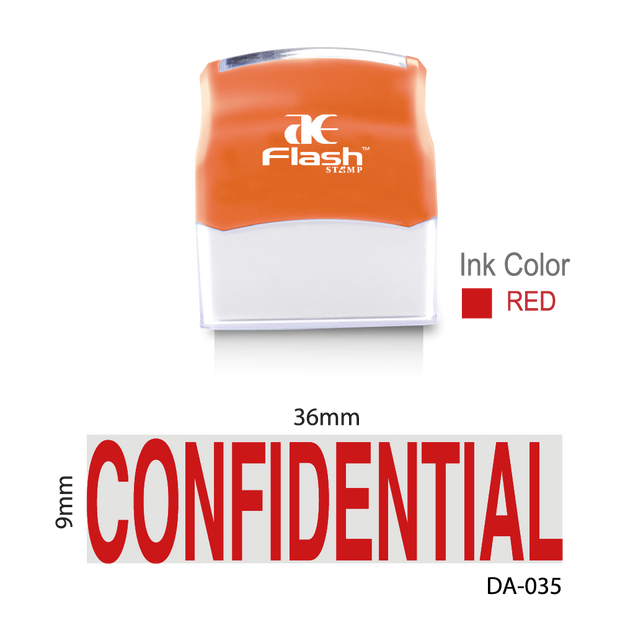 Confidential Stamp