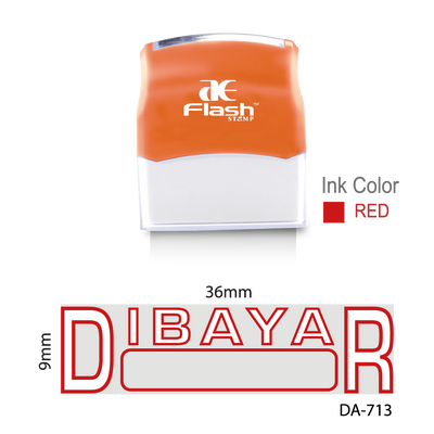 Dibayar (Two Colour)
