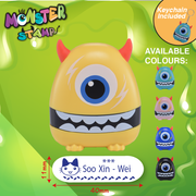 One Eyed Monster Stamp