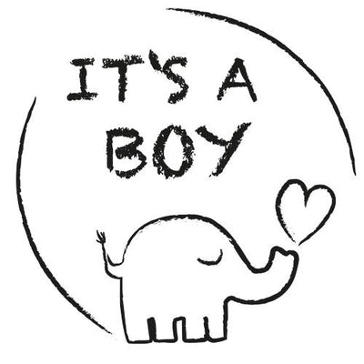 It's a Boy - Elephant