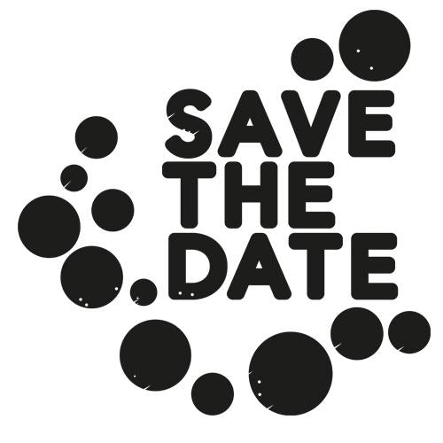 Save the Date - Dots