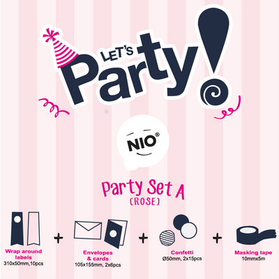 NIO Party Set A (Rose)