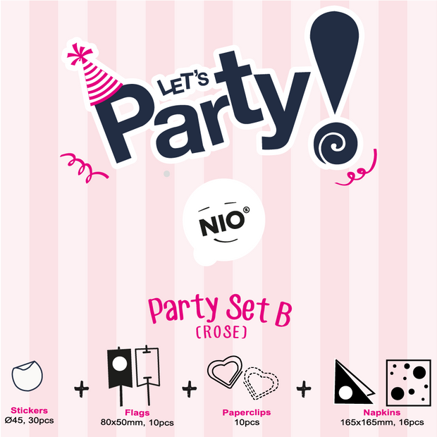 NIO Party Set B (Rose)