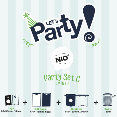 NIO Party Set C (Mint)