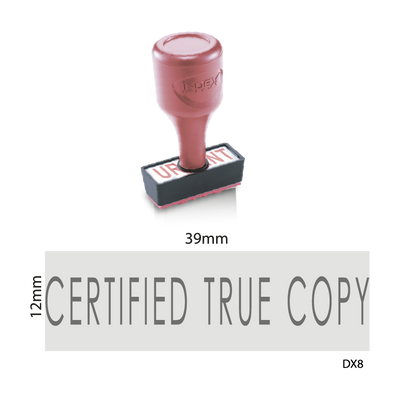 Certified True Copy