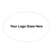 Oval Shaped Logo Stamp | Pre-Inked