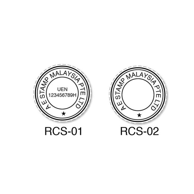 Round Company Stamp | Self Inking