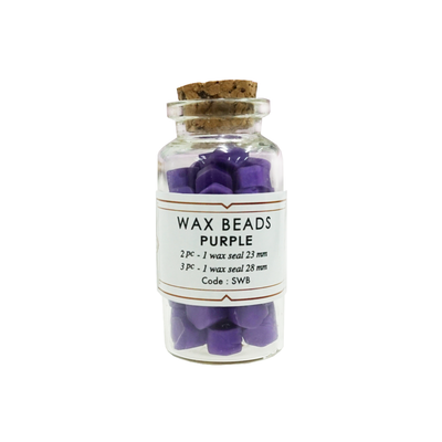 Purple Wax Beads